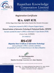 Best RKCL RSCIT ITGK Center in Jaipur