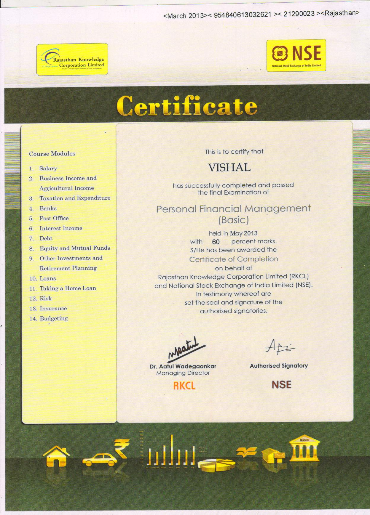 Gait ictl is the best skill development training organization for sample course certificates yelopaper Gallery